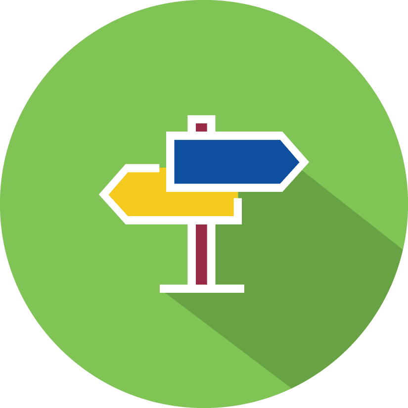 Icon for Navigation & Categorization Features