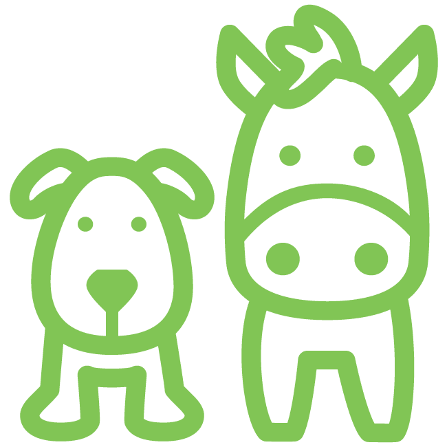 Icon for pet & animal care industry
