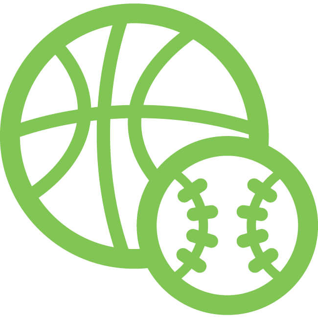 Icon for sporting goods industry