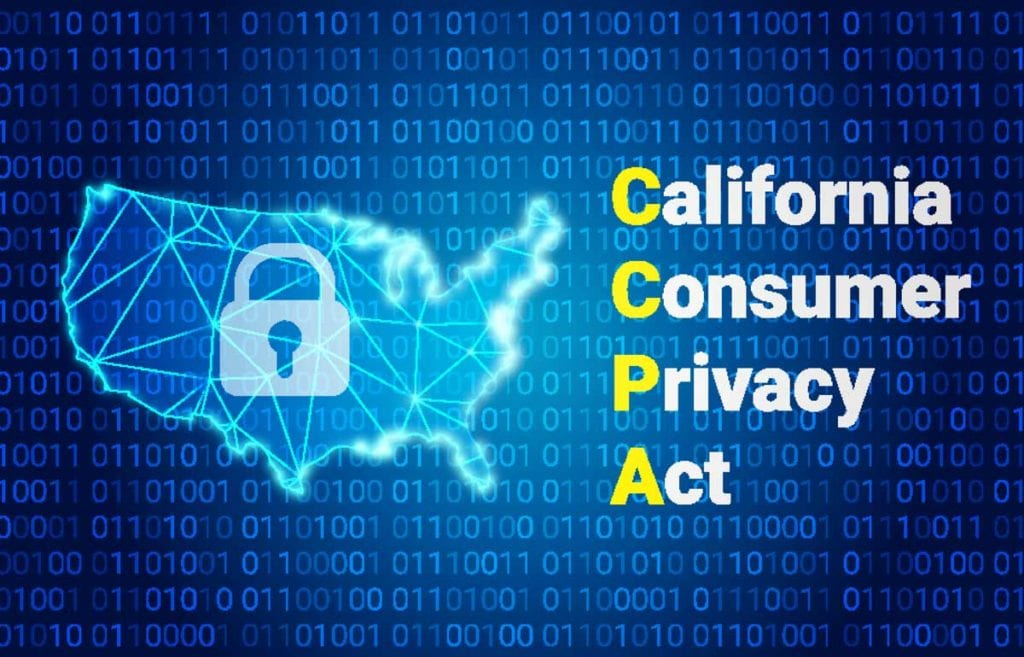 Photo depicting data security for California Consumer Privacy Act