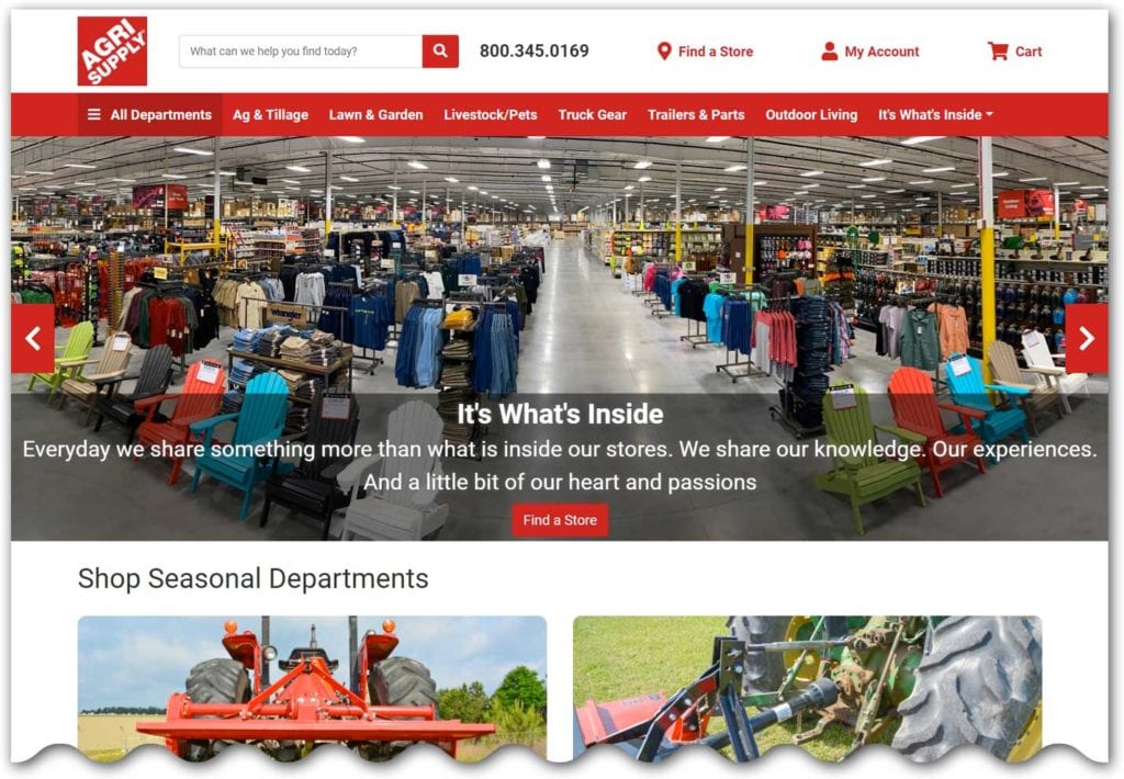 Agri Supply home page